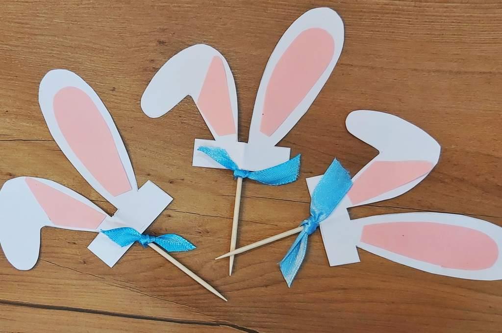 Manualidades para hacer con los niños, Toopers de orejas de conejo