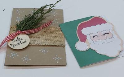 Postales navideñas fáciles y gratis